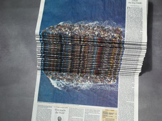 Der Tagesspiegel Print Ad - Refugees