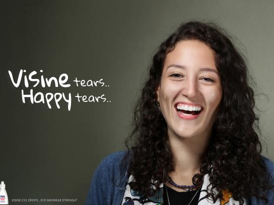 Visine Print Ad - Happy Tears - Rehab