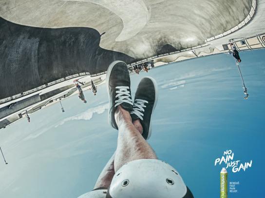 Balsamo Bengué Print Ad - Bengué Relax - Skate