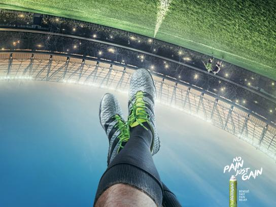 Balsamo Bengué Print Ad - Bengué Relax - Soccer