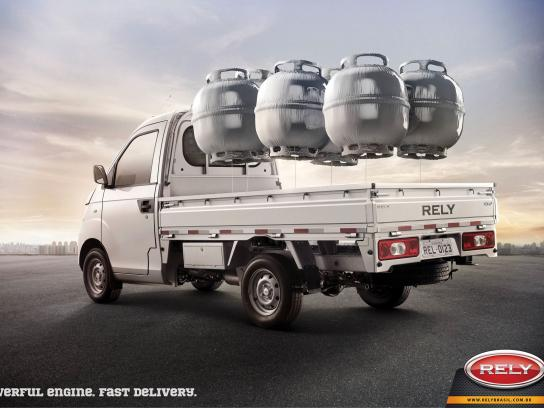 Rely Trucks Print Ad -  Gas