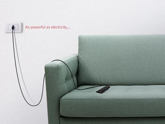 Energizer Print Ad - Remote