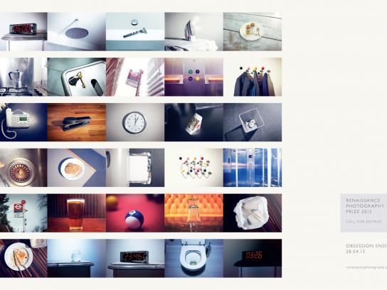 Renaissance Photography Prize Print Ad -  Monday