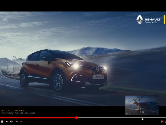Renault Print Ad - Renault Pure Vision, 1