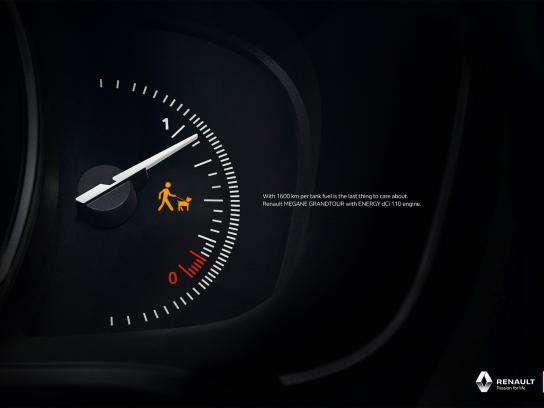 Renault Print Ad -  Dog