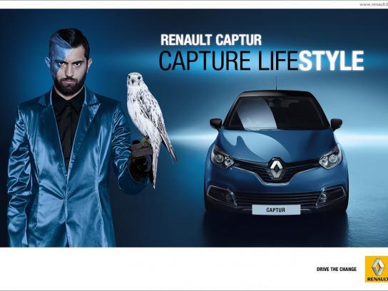Renault Print Ad -  Capture lifestyle, 1