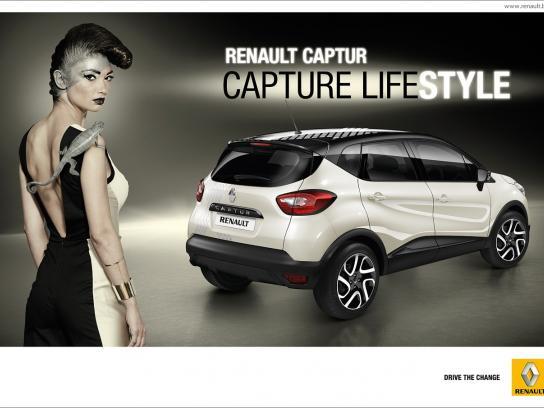 Renault Print Ad -  Capture lifestyle, 2