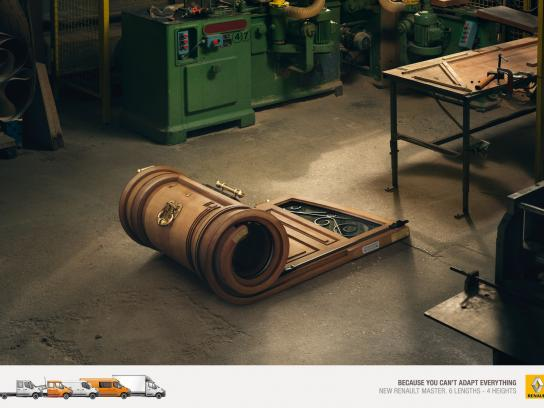 Renault Print Ad -  Can't adapt everything, 1