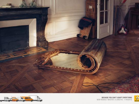 Renault Print Ad -  Can't adapt everything, 2