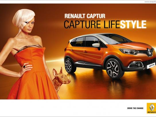 Renault Print Ad -  Capture lifestyle, 3