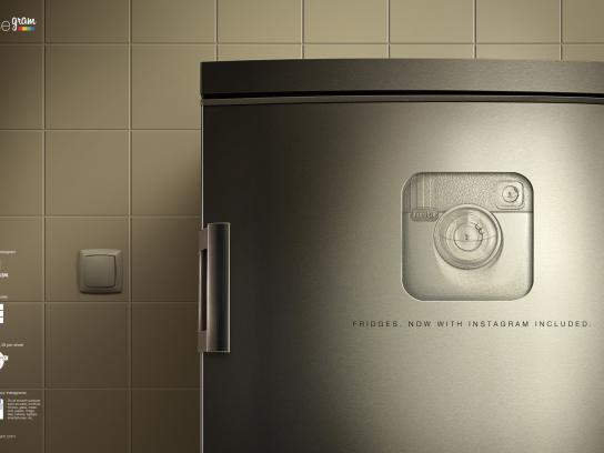 Reusegram Print Ad -  Fridge