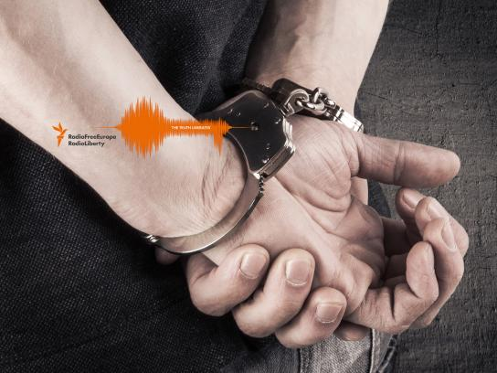 Radio Free Europe / Radio liberty Print Ad - Handcuffs