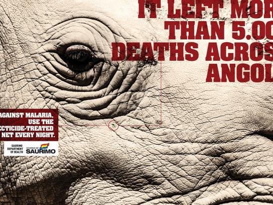 Saurimo Department of Health Print Ad -  Rhino