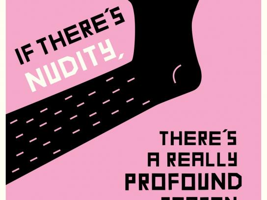 Rialto Channel Print Ad -  Nudity