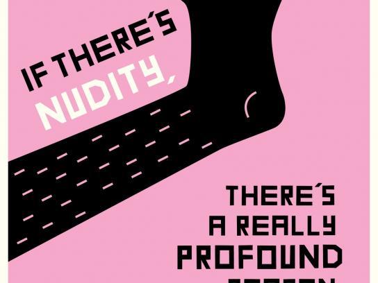 Rialto Channel Print Ad -  Nudity