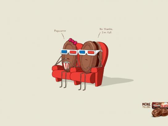 Amori Print Ad -  Popcorn