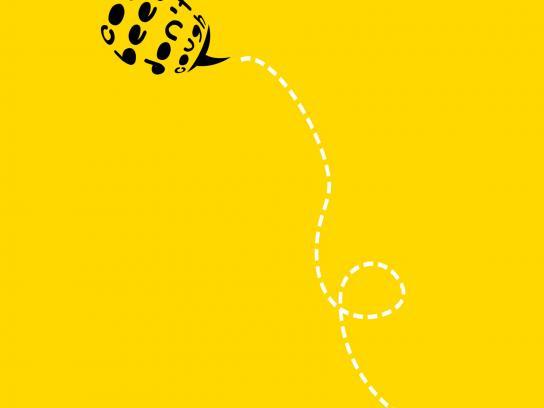Ricola Print Ad -  Bees