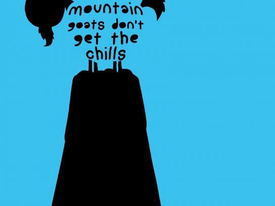 Ricola Print Ad -  Mountain goats