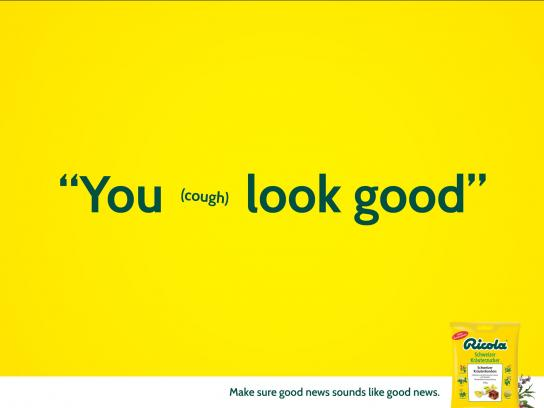 Ricola Print Ad -  Good