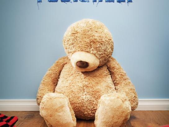 The Royal Institute for Deaf and Blind Children Outdoor Ad -  Teddy, 1