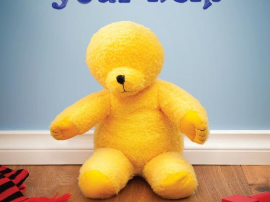 The Royal Institute for Deaf and Blind Children Outdoor Ad -  Teddy, 2