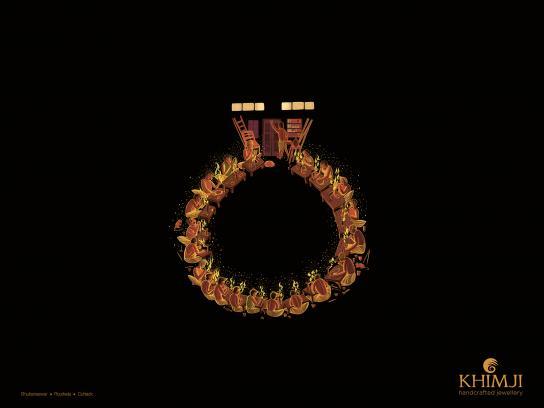 Khimji Print Ad - Ring