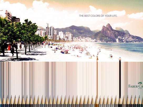 Faber-Castell Print Ad -  Rio