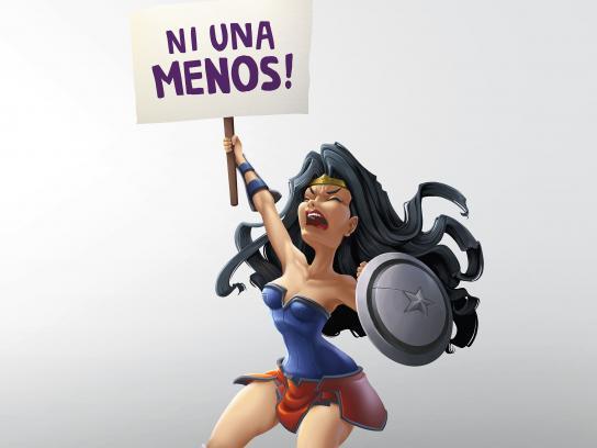 Ñandutí Print Ad - Rioter Woman