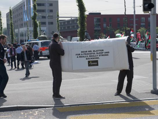 Riposa Ambient Ad -  Dear Mr Blatter