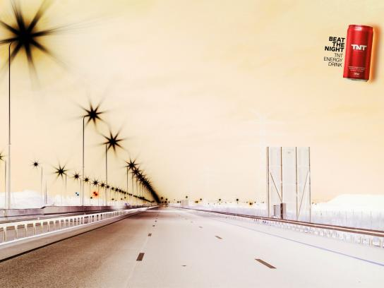 TNT Energy Drink Print Ad -  Road