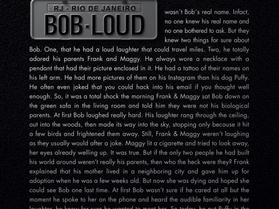 Mercedes Print Ad - Road Story - Bob Loud