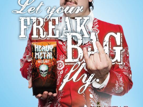 Roastar Print Ad -  Freak Carlos