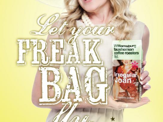 Roastar Print Ad -  Freak Joan