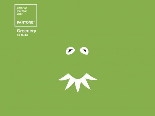 Robbialac Print Ad - Greenery Icons, Kermit