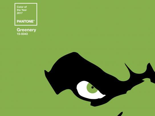 Robbialac Print Ad - Greenery Icons, Hulk
