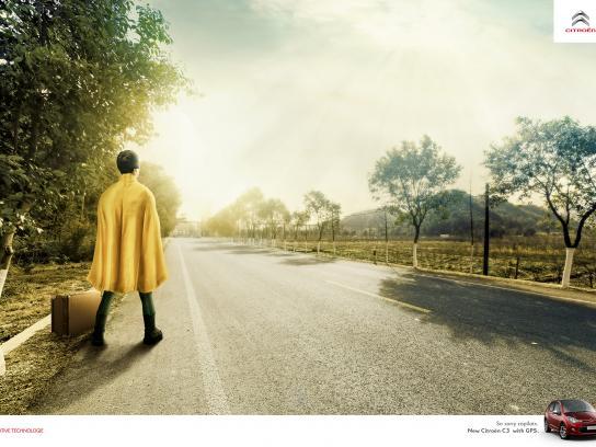 Citroën Print Ad - GPS - Robin