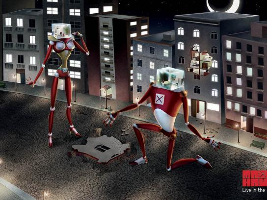 MaxHaus Print Ad -  Robot, 2