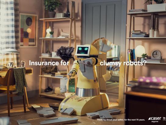 Caser Seguros Print Ad - Robot