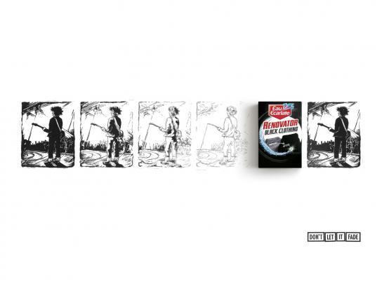 Eau Ecarlate Print Ad -  Rocker