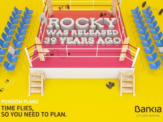 Bankia Print Ad -  Rocky