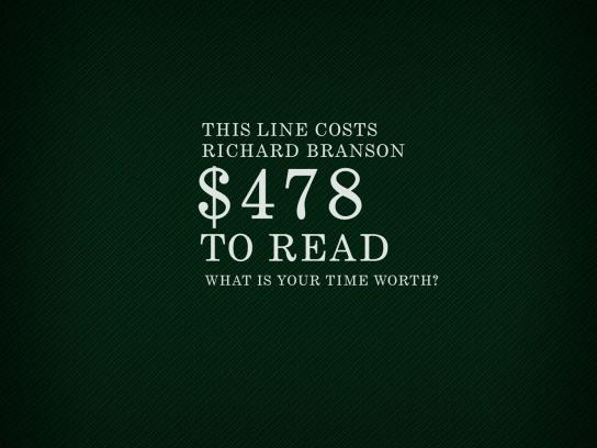 Rolex Print Ad -  Read