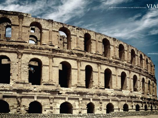 Viaje Mais Print Ad -  Rome