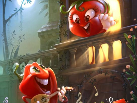 Saudia Print Ad - Fiery Ketchup