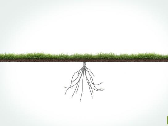 Roof Garden Print Ad -  Grass, 1