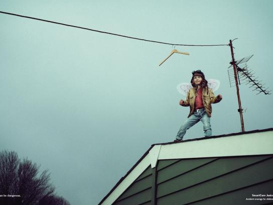 AXA Print Ad -  Rooftop