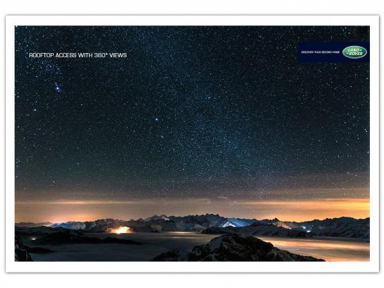 Land Rover Print Ad -  Views