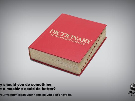 iRobot Print Ad - Dictionary