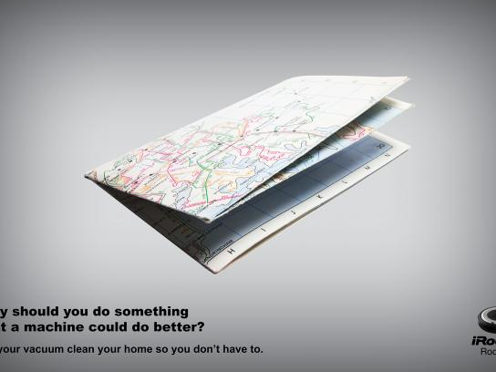iRobot Print Ad - Map