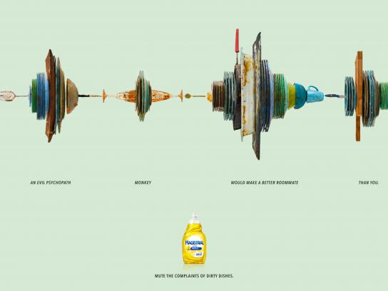 Magistral Print Ad - Roommate