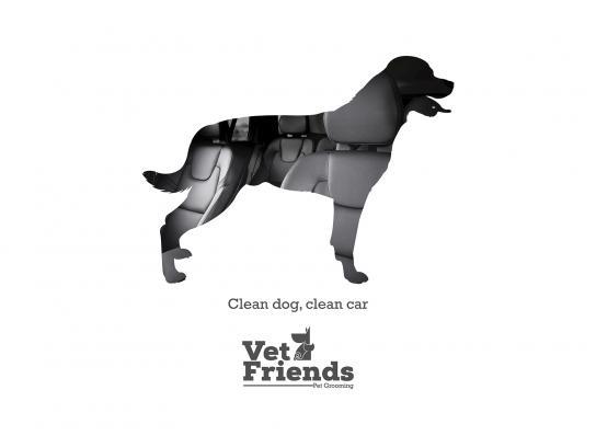 Vet Friends Print Ad - Rottweiler